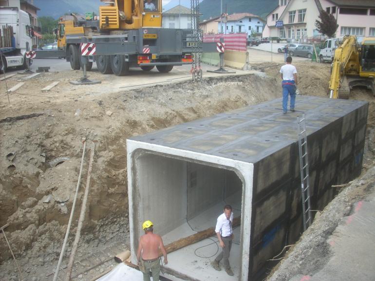 Costruzioni eredi del marco realizzazioni - Garage interrato ...